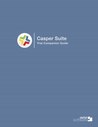 Step-by-step guide to free Casper Suite trial.
