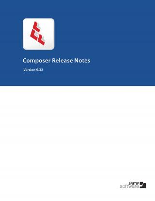 Composer 9.32 Release Notes