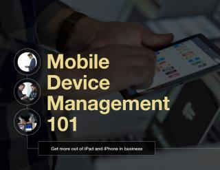 Learn the basics of securing iPad and iPhone in business.