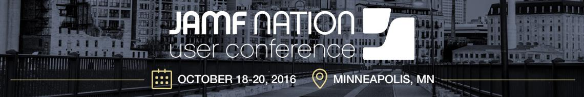 JAMF Nation User Conference 2016